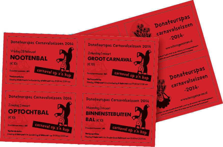 Donateurskaarten